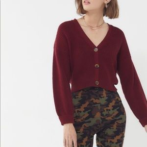 Urban Outfitters Cropped Cardigan